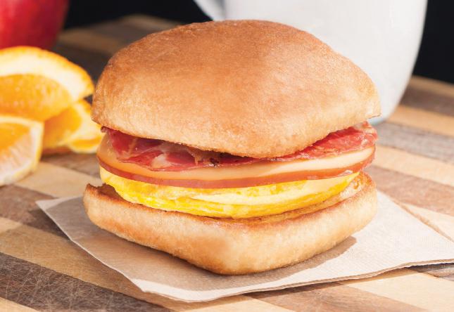 Applewood Bacon Gouda on Ciabatta - Product Image