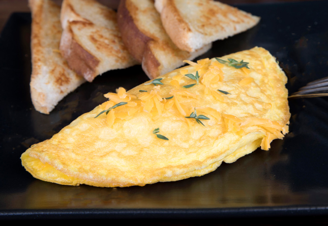 Cheddar Cheese Omelet - Product Image