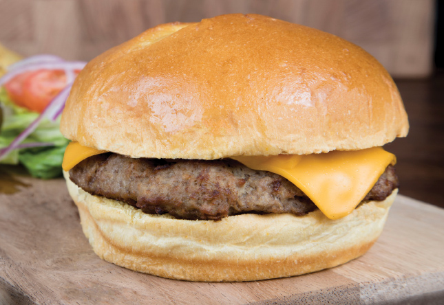 Flame Broiled Cheeseburger - Product Image