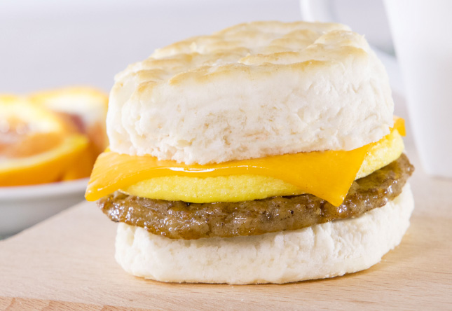 Sausage, Egg and Cheese Biscuit - Product Image